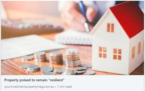 Property Poised to Remain Resilient