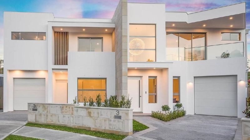 Modern duplexes prove popular with young families