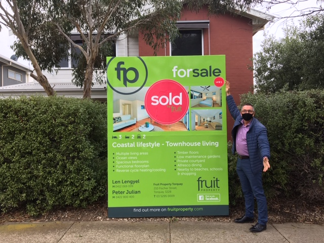 We would not hesitate recommending Fruit Property & Len!