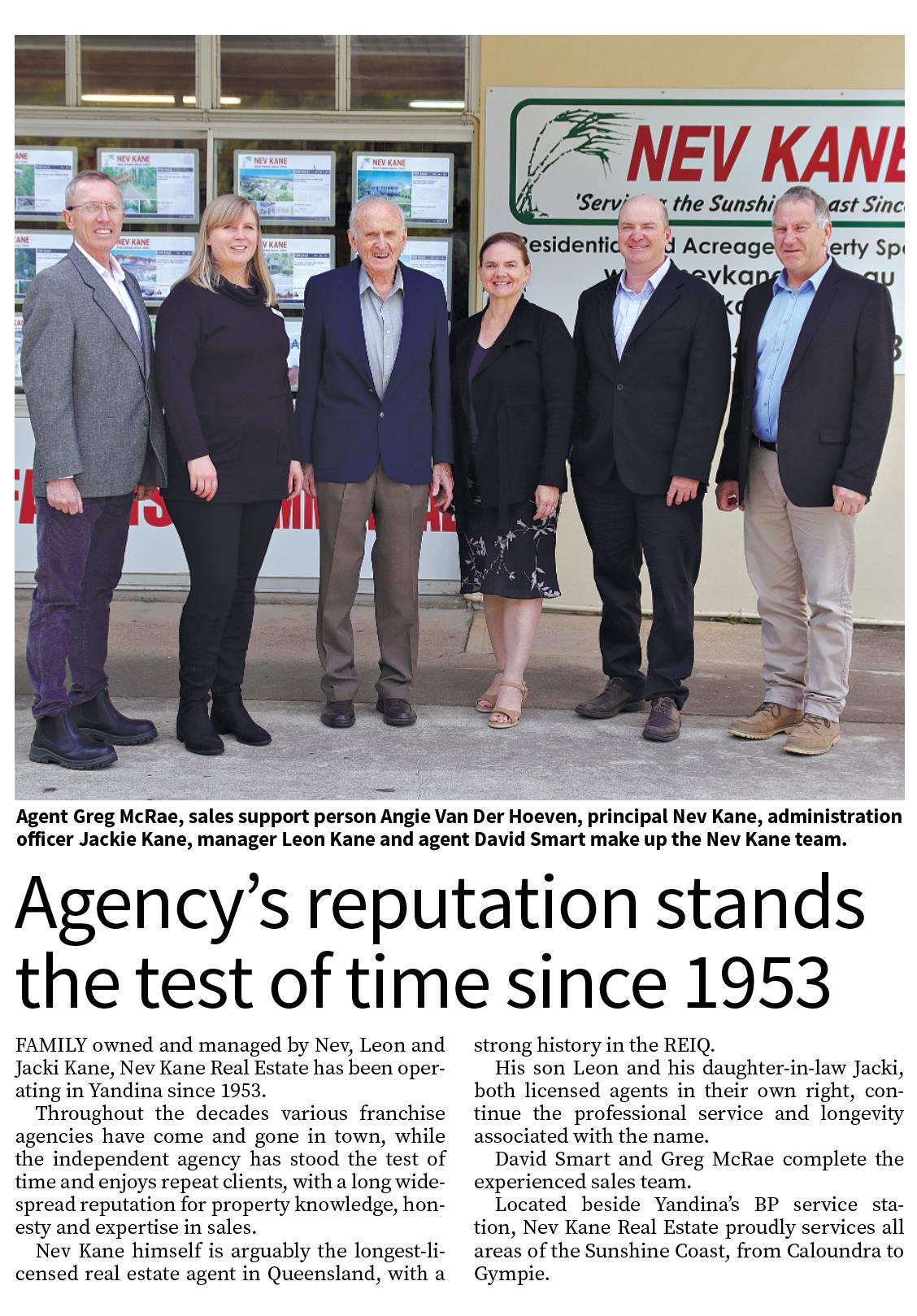 Article in 'Sunshine Valley Gazette'