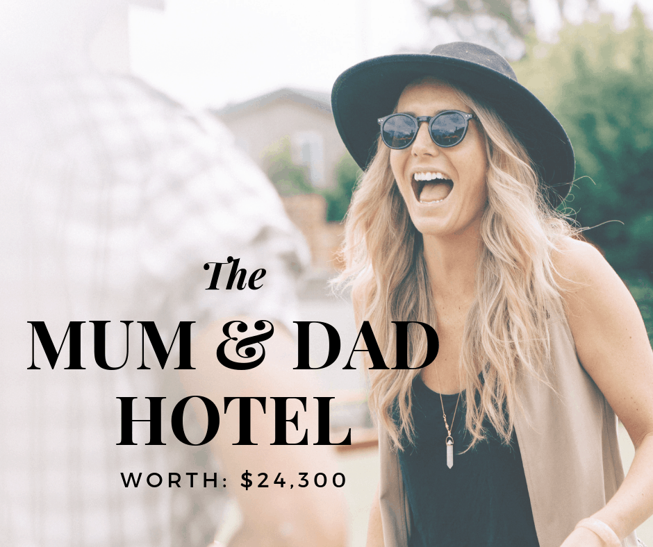 Mum & Dad's Hotel is worth $24K!