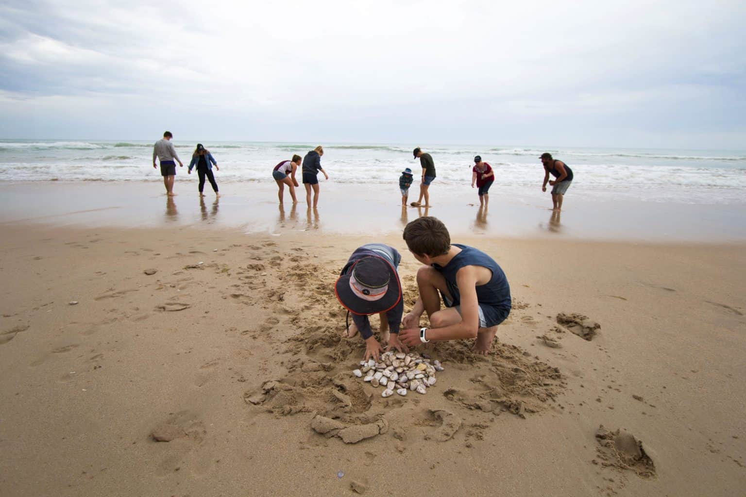 Keep the kids busy in the Coorong