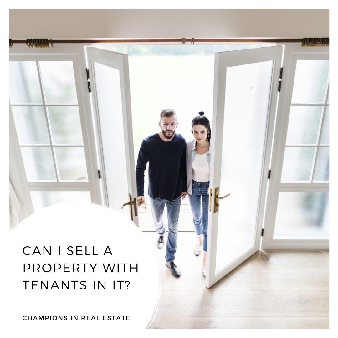 Selling a property with tenants?