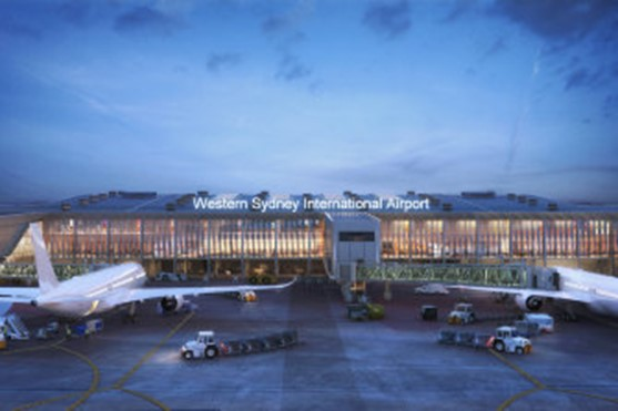 Construction of new Sydney airport terminal due to start next year