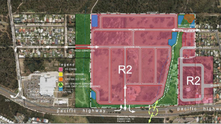 Rezoning approved for a 300 lot housing subdivision
