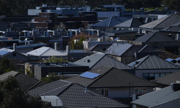 Even in the midst of a recession the Australian housing market continues along its merry way