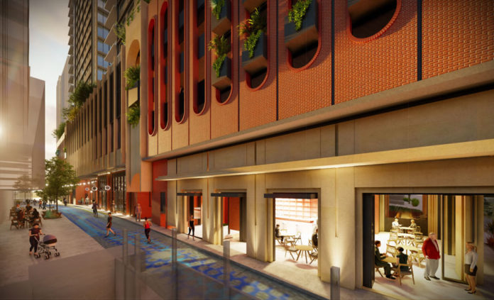 Two residential towers proposed for 30 Merivale Street, South Brisbane