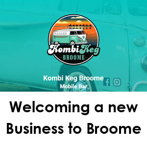 New to Broome - Kombi Keg
