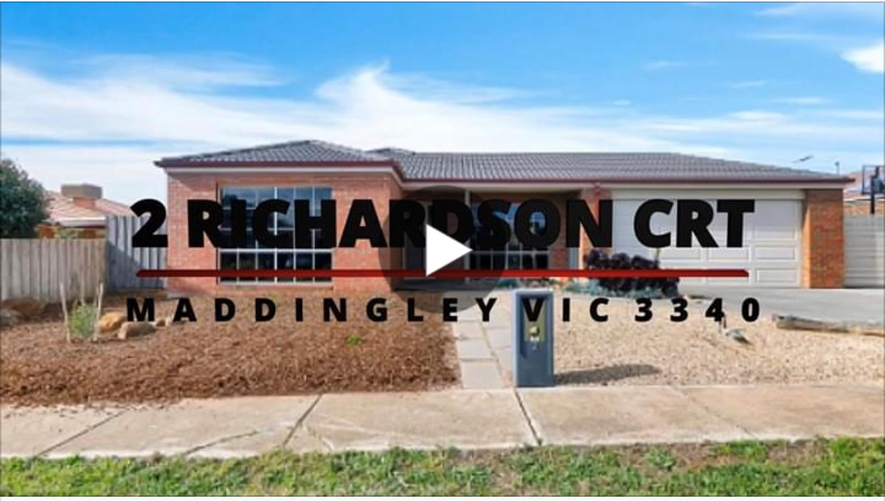 THE STORY BEHIND THE SALE OF 2 RICHARDSON COURT MADDINGLEY VIC 3340