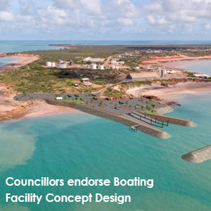 Councillors endorse Broome Boating Facility concept design