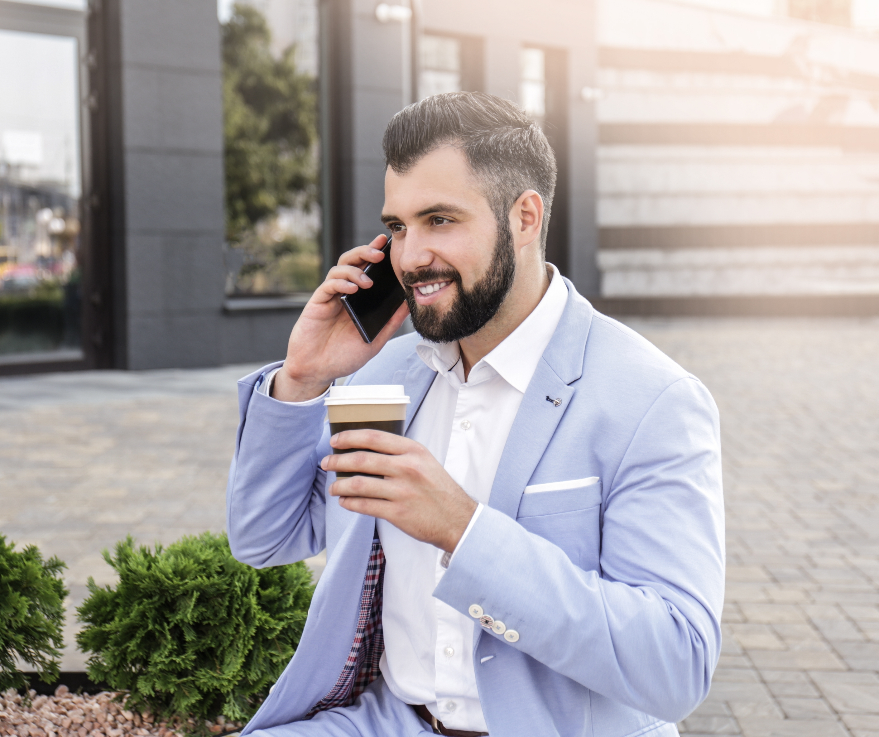 Will missing your coffee in the morning actually make you rich