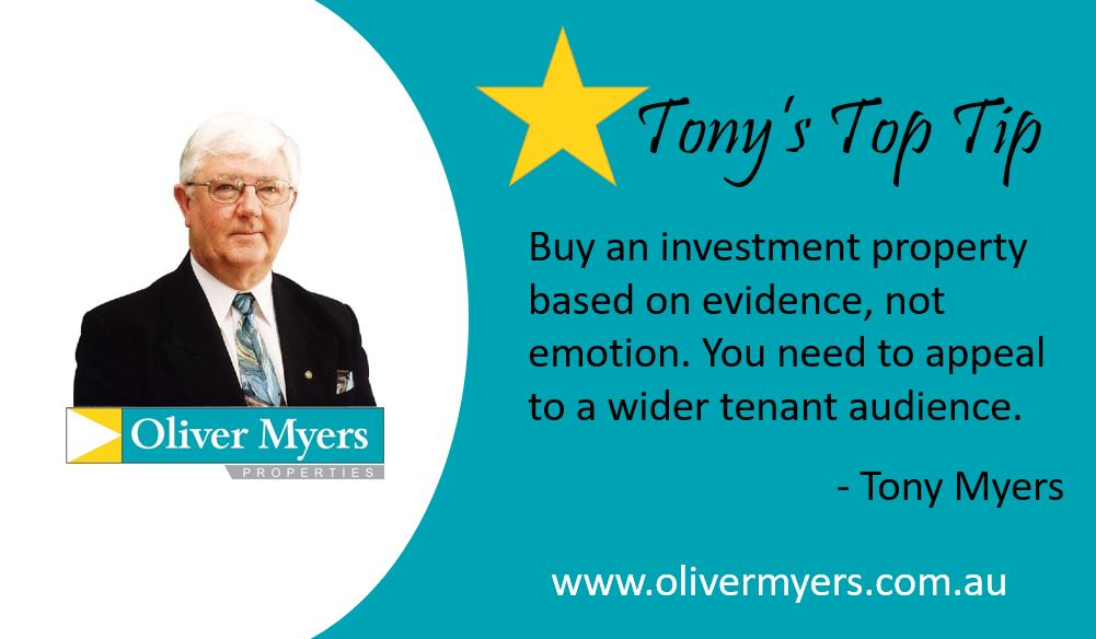 Tony's Top Tip - Evidence not Emotion