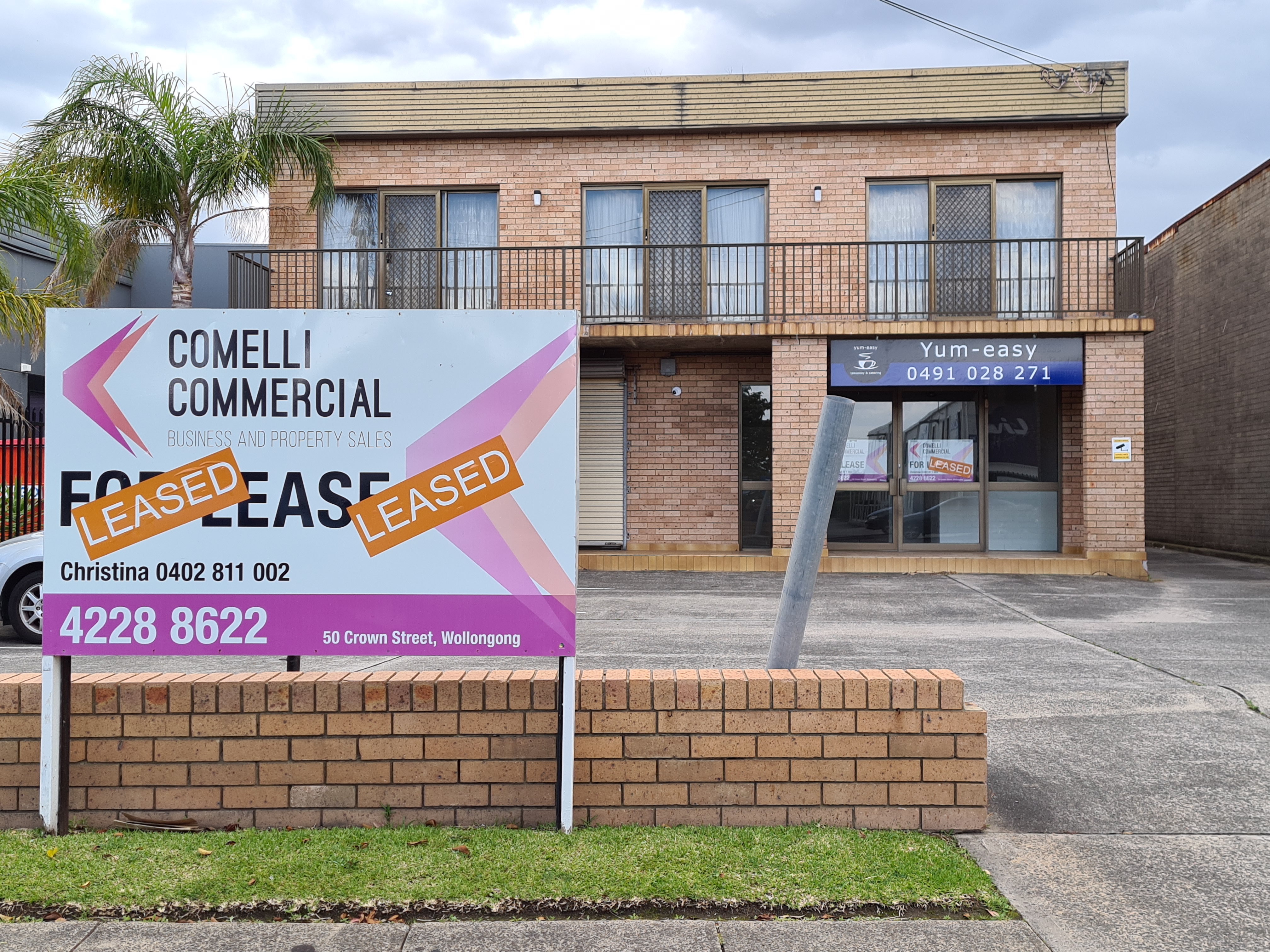 Thank you for Leasing Shop 2, 302 Keira Street, Wollongong