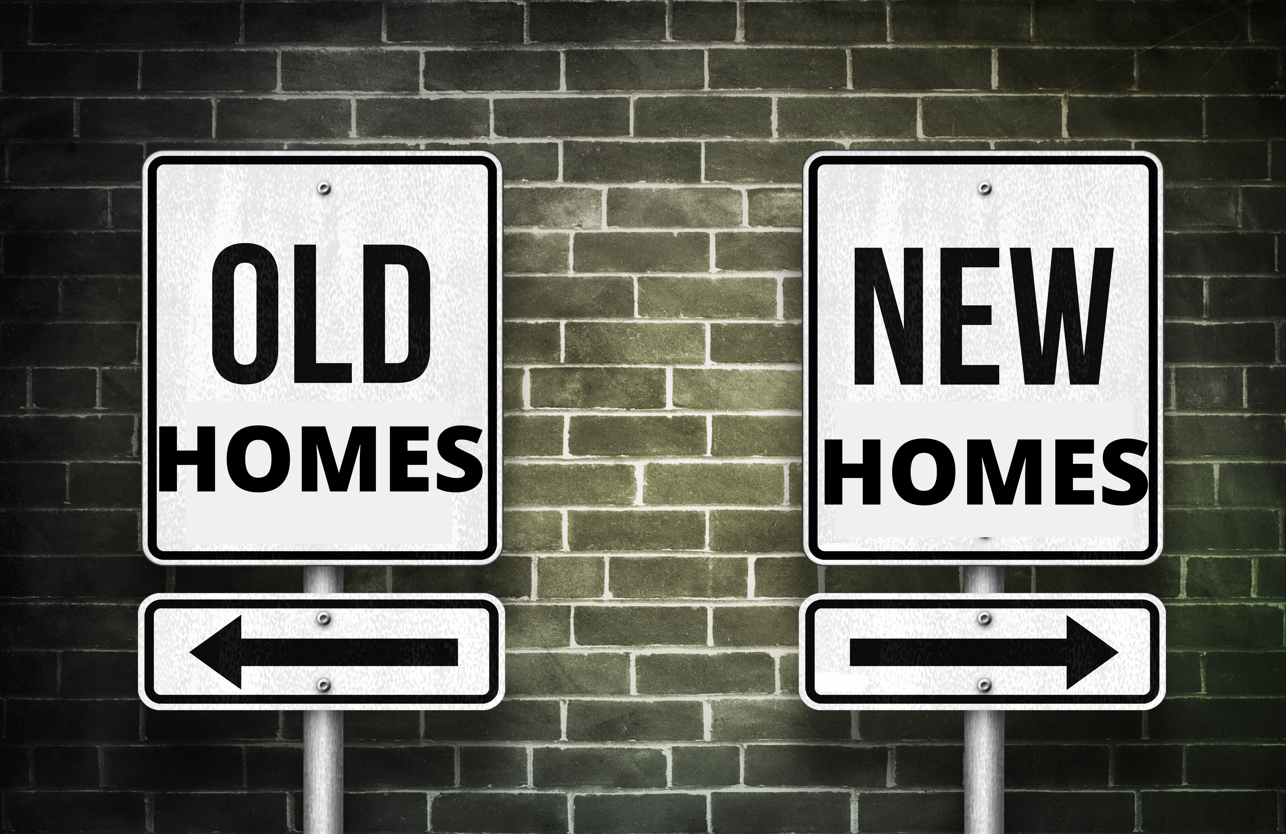 New versus existing homes for first home buyers