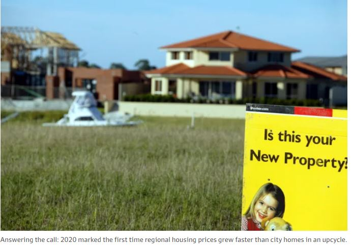 The year regional housing turned property on its head
