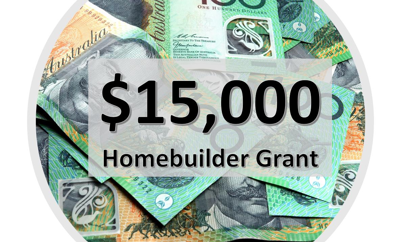 HomeBuilder Grant Extension