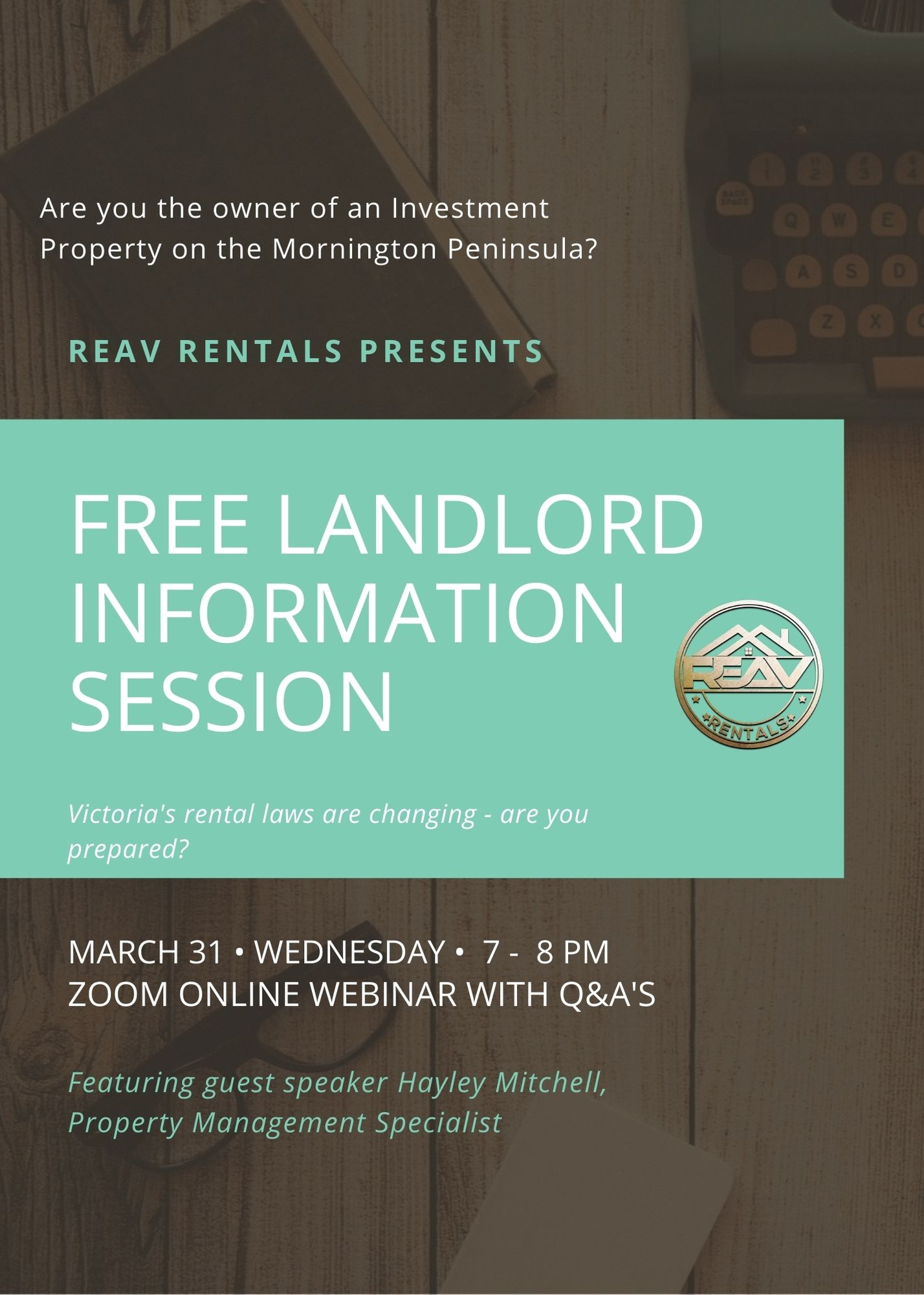 Free Landlord Information Session
