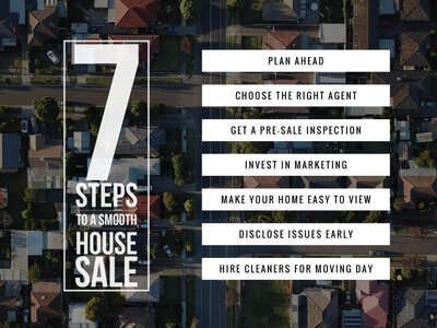 Seven steps to a smooth house sale