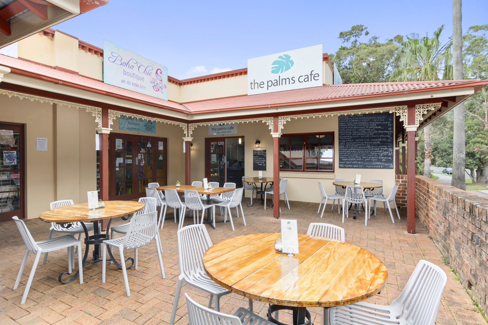 The Palms Cafe -SOLD