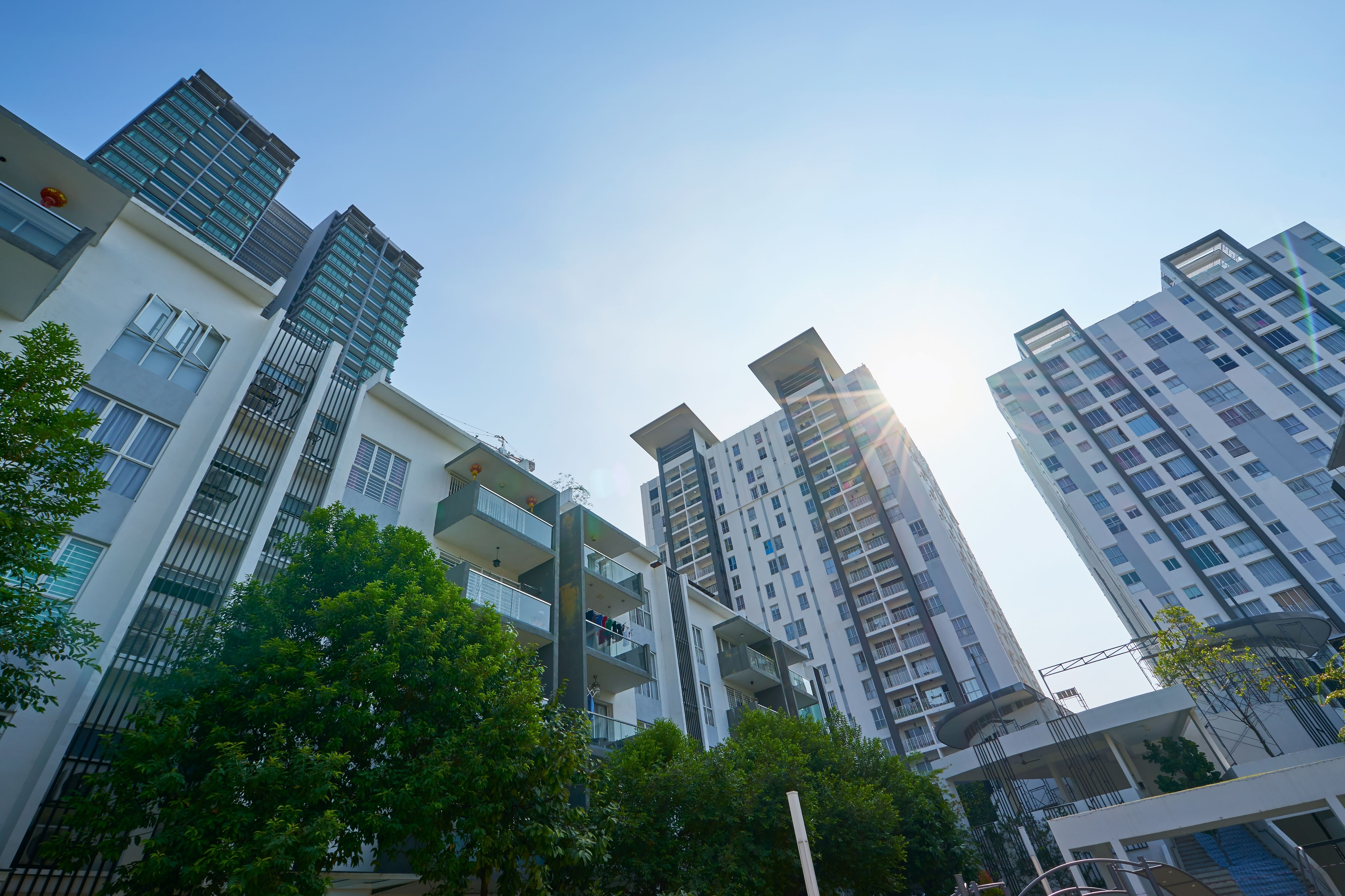 What could curb the rising property market prices?