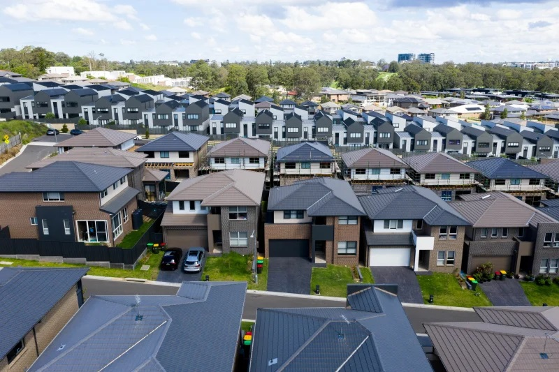 There will be 150,000 new homes in Sydney in four years. More than 200 suburbs will get none of them