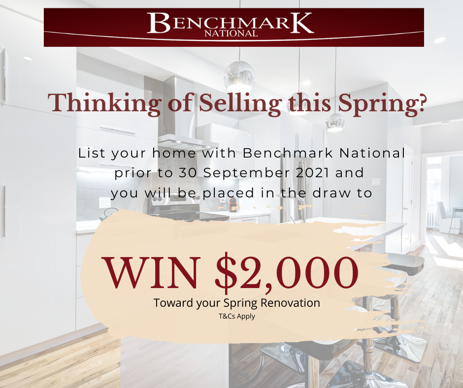 Benchmark National $2000k Renovation Competition  (Chance to Win $2000k) Terms and Conditions