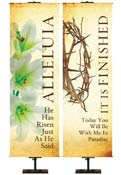 Easter Banners Linen Series