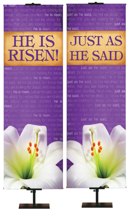 Economical Promise of Easter Banner Series of 6