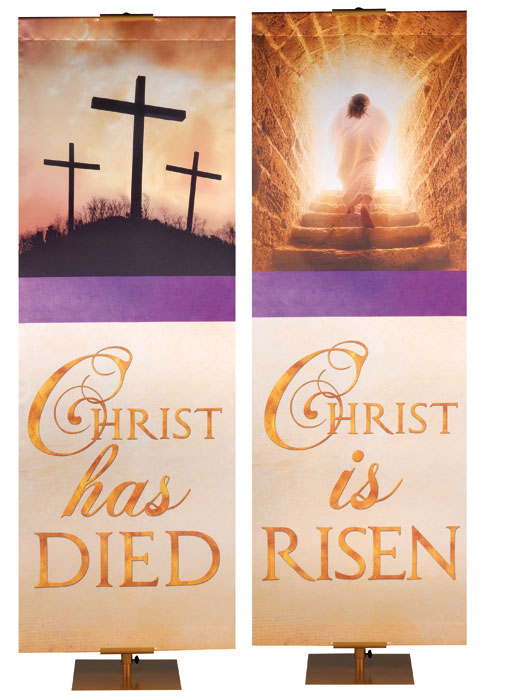 Easter Economy Faux Foil Banner Collection