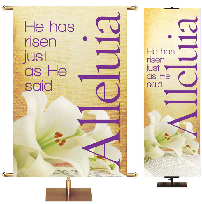 Easter Church Banners ON SALE As Low As $36.75 ea.