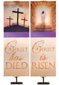 Easter Economy Faux Foil Banner Series