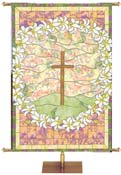 Easter Stained Glass Banners