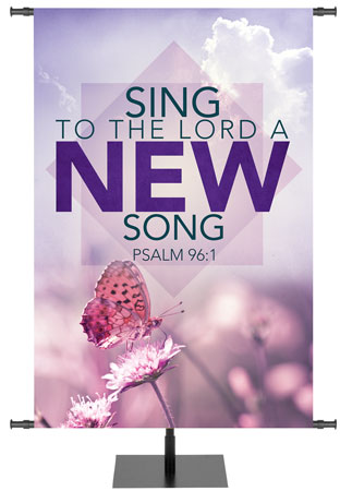 Contemporary Spring Scripture Banner