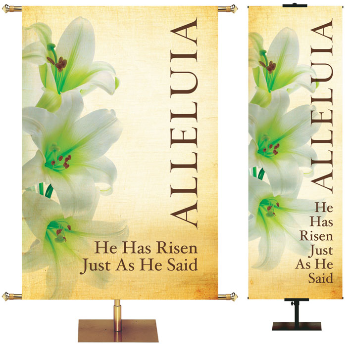 Easter Linen Banner Collection of 6