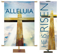 Easter Light Banners