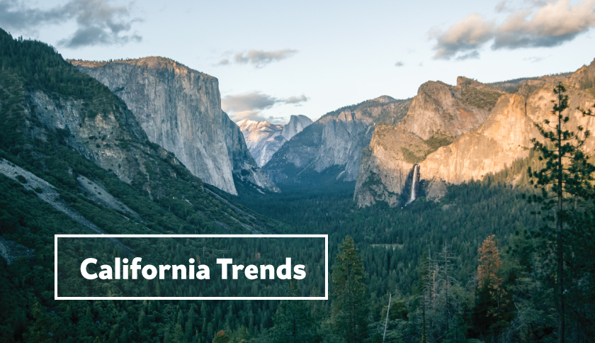 Image of Yosemite for California Trends section of the Eaze Insights: State of Cannabis 2016