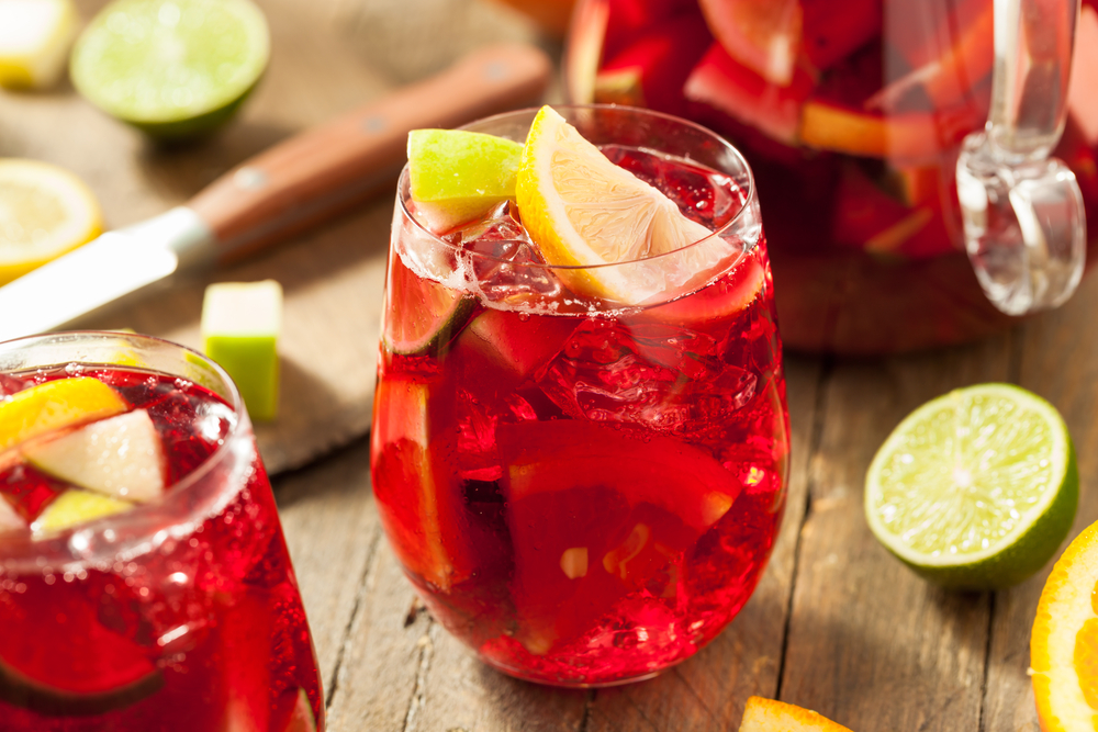 Image of sangria cocktails