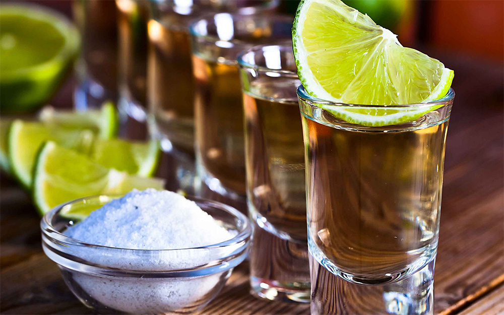 Image of tequila shots