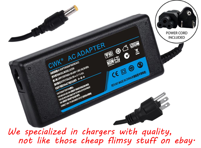 Details About LAPTOP CHARGER FOR ACER 19V 342A 65W POWER CORD SUPPLY AC Adapter Battery