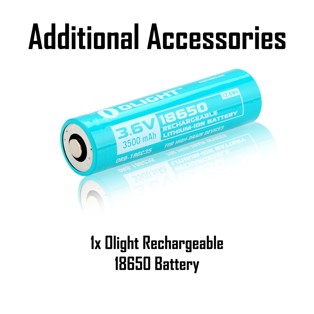 Olight S2R Baton II Green DHL Express Shipping 1150LM Rechargeable Flashlight