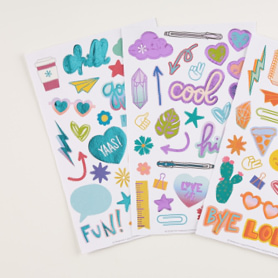 Doodles & Desk Sets Sticker Pack