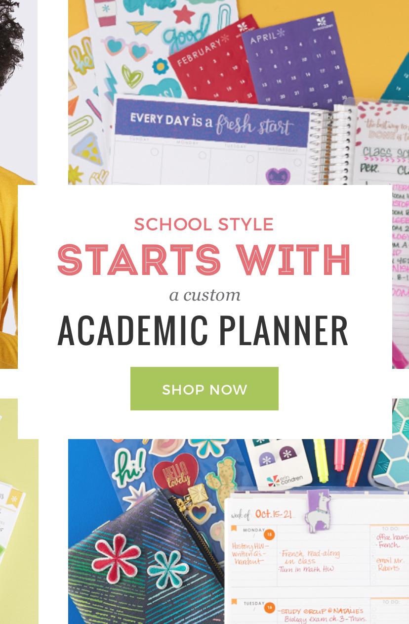 Academic Planners Academic Year Planner Erin Condren