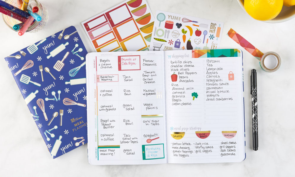 5 stress free meal planning tips