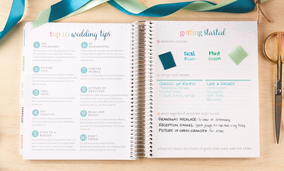 Planning In The New Wedding Planner
