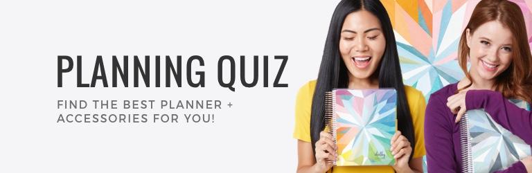Planner Quiz | Erin Condren