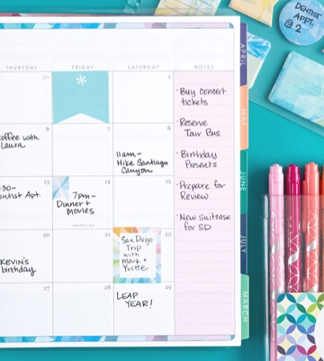 graphic regarding May Books Planner identified as Planners, Notebooks, Publications and Stationery Erin Condren