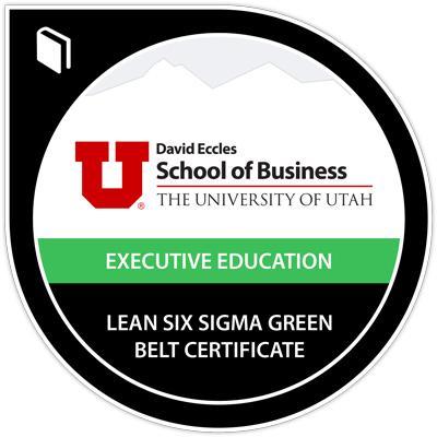 Lean Operations Management Digital Badge