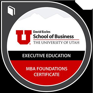 MBA Foundations Certificate Digital Badge