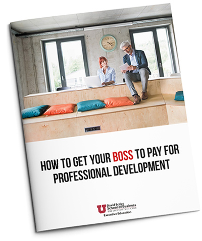 How to get your boss to pay for professional development guide