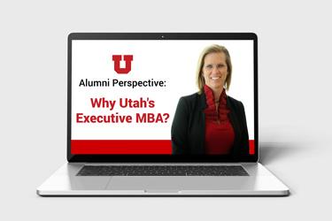Elizabeth Sexton Alumni Perspective: Why Utah's Executive MBA